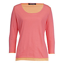 Buy Betty Barclay Reverse Top, Pink Online at johnlewis.com