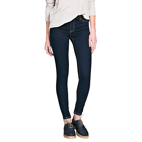 Buy Mango Dark Jeggings, Dark Blue Online at johnlewis.com