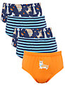 John Lewis Boy Dog Briefs, Pack of 5, Multi