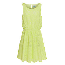 Buy Yumi Girl Lace Dress, Neon Online at johnlewis.com