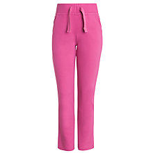 Buy John Lewis Girl Fleece Joggers, Pink Online at johnlewis.com