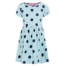 Buy John Lewis Girl Polka Dot Jersey Dress Online at johnlewis.com