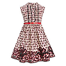 Buy Somerset by Alice Temperley Cavendish Print Dress, Red Online at johnlewis.com