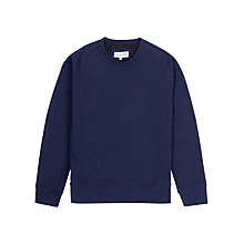 Buy Jigsaw Raglan Crew Neck Cotton Jumper Online at johnlewis.com