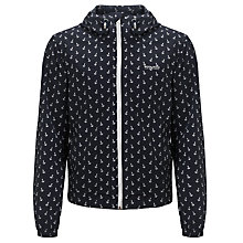 Buy Woolrich John Rich & Bros. Anchor Print Jacket, Navy Online at johnlewis.com