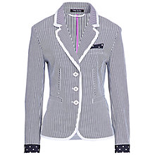 Buy Betty Barclay Stripe Jacket, Blue Online at johnlewis.com