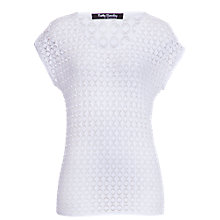 Buy Betty Barclay Lace Camisole T-Shirt, White Online at johnlewis.com