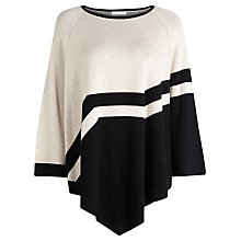 Buy Windsmoor Colour Block Cape, Neutral Online at johnlewis.com