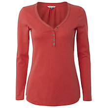 Buy White Stuff Raspberry T-Shirt, Dark Hot Coral Online at johnlewis.com