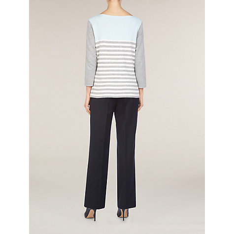 Buy Planet Colour Block Jumper, Grey Online at johnlewis.com