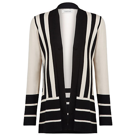 Buy Windsmoor Geometric Cardigan, Neutral Online at johnlewis.com