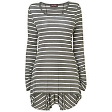 Buy Phase Eight Striped Tegan Maxi Top, Pacific/Ivory Online at johnlewis.com