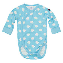 Buy Polarn O. Pyret Cloud Bodysuit, Blue Online at johnlewis.com