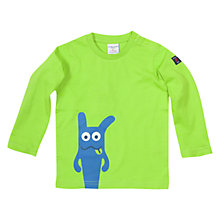 Buy Polarn O. Pyret Baby Monster Character T-Shirt Online at johnlewis.com