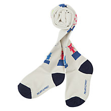 Buy Polarn O. Pyret Character Tights, White/Multi Online at johnlewis.com