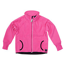 Buy Polarn O. Pyret Wind Fleece with Pockets, Pink Online at johnlewis.com