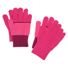Buy Polarn O. Pyret Magic Gloves, Pink Online at johnlewis.com