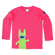 Buy Polarn O. Pyret Girls' Character Print T-Shirt Online at johnlewis.com