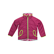 Buy Polarn O. Pyret Reversible Coat, Purple Online at johnlewis.com