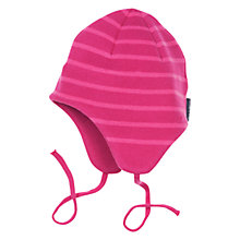 Buy Polarn O. Pyret Baby Stripe Trapper Hat Online at johnlewis.com