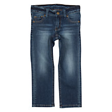 Buy Polarn O. Pyret Children's Denim Jeans, Blue Online at johnlewis.com