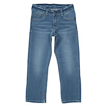 Buy Polarn O. Pyret Boys' Slim Fit Denim Jeans, Light Blue Online at johnlewis.com