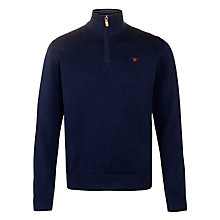 Buy Hackett London 1/2 Zip Jumper Online at johnlewis.com