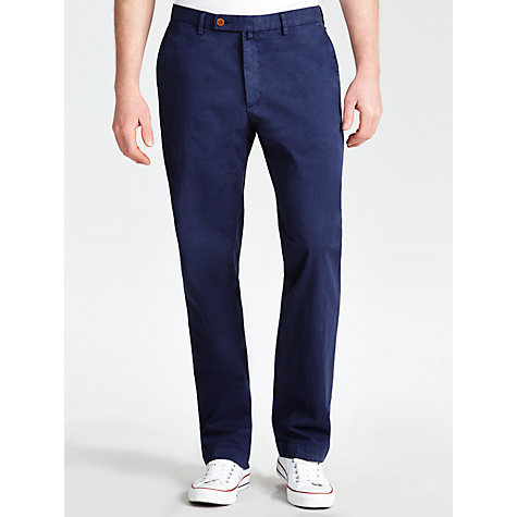 Buy Hackett London Stretch Twill Cotton Chinos Online at johnlewis.com