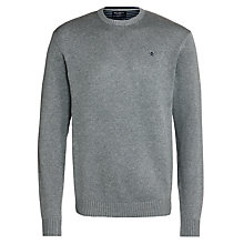 Buy Hackett London Cotton Crew Neck Jumper Online at johnlewis.com