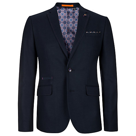 Buy Ted Baker Elrand Blazer, Navy Online at johnlewis.com