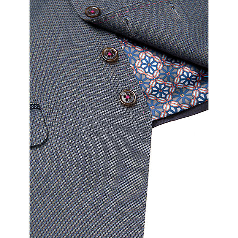 Buy Ted Baker Kiliwai Wool Waistcoat, Blue Online at johnlewis.com