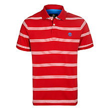 Buy Timberland Jersey Stripe Polo Shirt, Samba Online at johnlewis.com