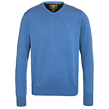 Buy Timberland Cotton V-Neck Jumper Online at johnlewis.com