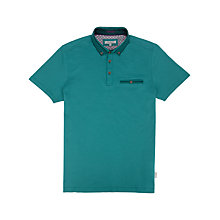 Buy Ted Baker Nugrain Short Sleeve Polo Shirt Online at johnlewis.com