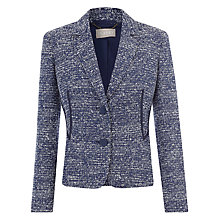 Buy Planet Textured Jacket, Blue Online at johnlewis.com