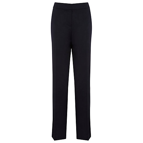 Buy Planet Straight Leg Trousers, Blue Online at johnlewis.com