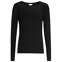 Buy Reiss Silk Front Katie Top Online at johnlewis.com
