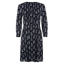 Buy NW3 by Hobbs Tree Print Dress, Navy Ice Blue Online at johnlewis.com