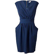 Buy Closet Pleated Dress, Blue Online at johnlewis.com