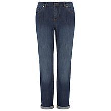 Buy NW3 by Hobbs Songlines Boyfriend Jeans, Blue Multi Online at johnlewis.com