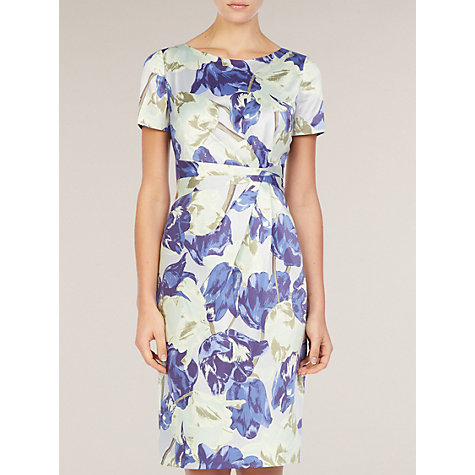 Buy Planet Firenze Floral Dress, Blue Online at johnlewis.com