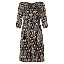 Buy allegra by Allegra Hicks Molly Dress, Flame Black Online at johnlewis.com