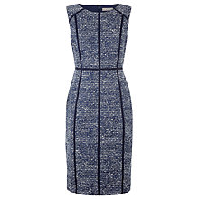 Buy Planet Textured Dress, Blue Online at johnlewis.com