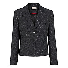 Buy Planet Textured Suit Jacket, Black Online at johnlewis.com