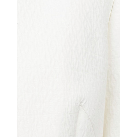 Buy Planet Textured Short Jacket, White Online at johnlewis.com