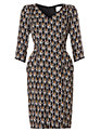 allegra by Allegra Hicks Peyton Dress, Flame Black