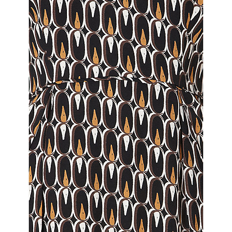 Buy allegra by Allegra Hicks Peyton Dress, Flame Black Online at johnlewis.com