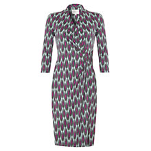Buy allegra by Allegra Hicks Annabelle Dress, Chains Sage Online at johnlewis.com