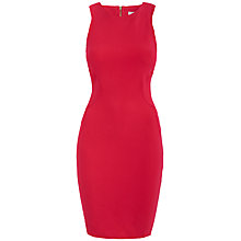 Buy Almari Racer Detail Dress, Raspberry Online at johnlewis.com