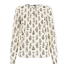 Buy NW3 by Hobbs Tree Print Blouse Online at johnlewis.com